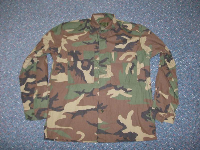 Bosnian woodland camouflage jacket & shirt Bosnia16