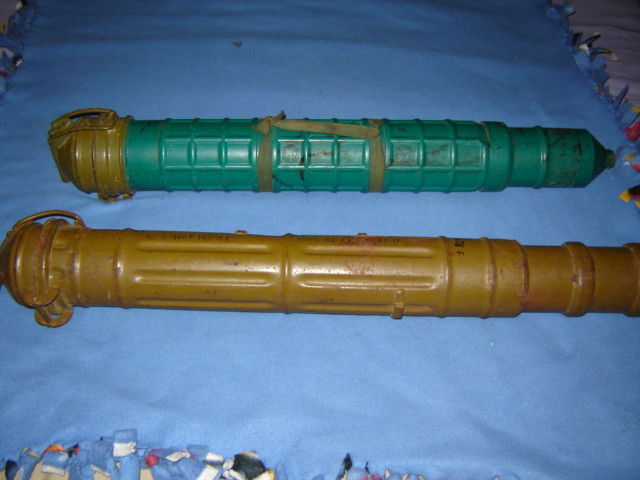 Captured Rocket Tubes, One was used as a map case (originally posted by nkomo) Drug_010