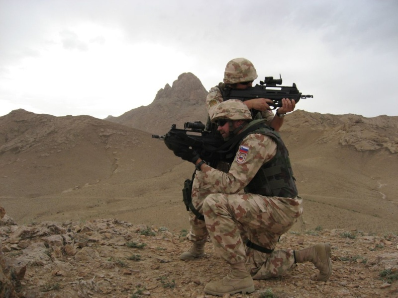 SLOVENIAN FORCES in AFGHANISTAN photos Sloven11