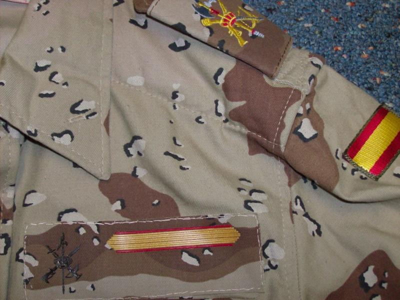 SPANISH LEGION 6 COLOUR DESERT uniform Spanis12