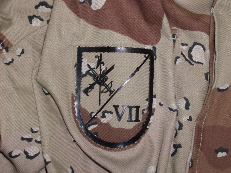 SPANISH LEGION 6 COLOUR DESERT uniform Spanis13