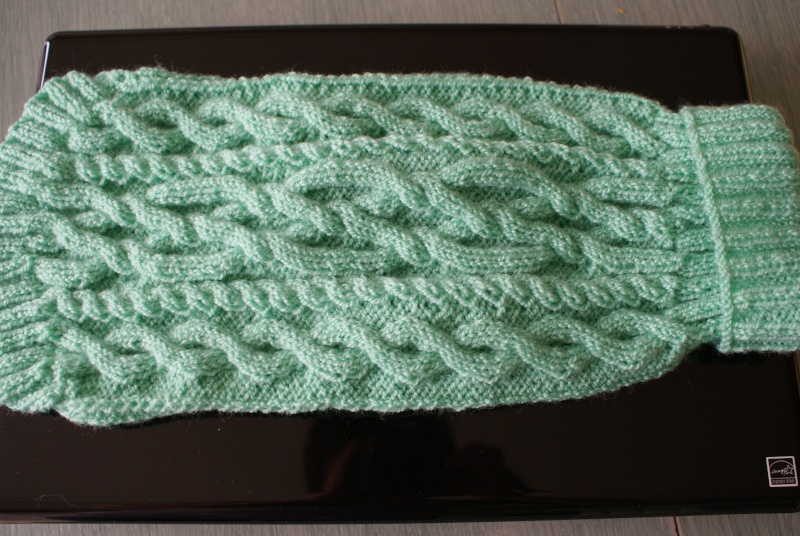 Manteau laine (tricoté main) . Mantea22
