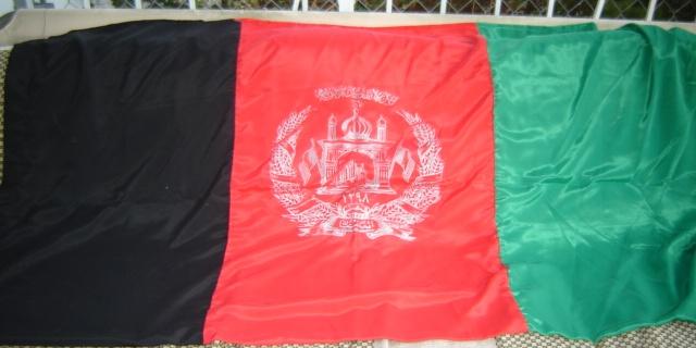 Afghani National Flag 01216