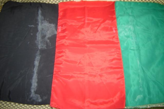 Small Afghan Flag 01317