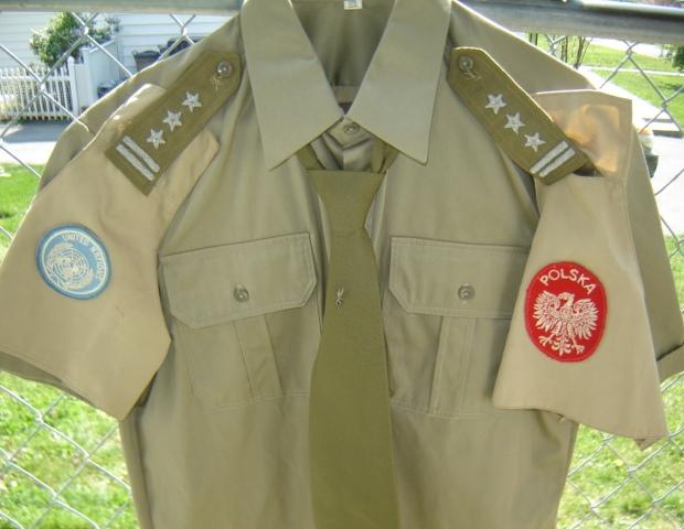 Polish Colonel's Uniform for UN 01421