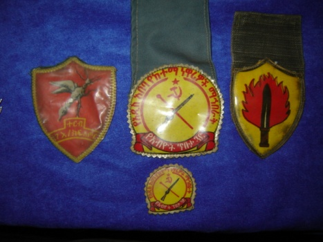 Ethiopian Derg patches and badges Africa12