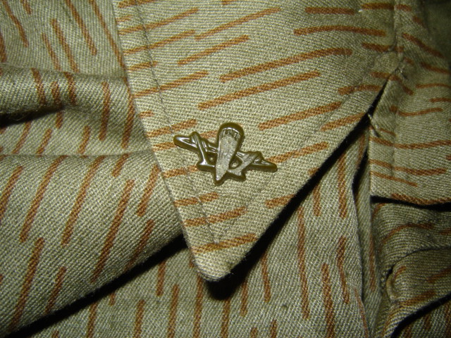 Uzbekistani East German Rain Pattern Camo Uniform Pictur20