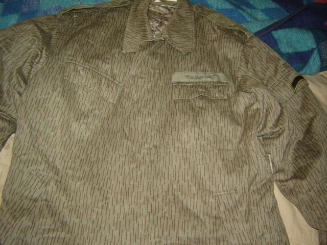 Uzbekistani East German Rain Pattern Camo Uniform Pictur27