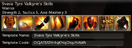 Beginner axe build (level 8) that can grow... Gw142a10