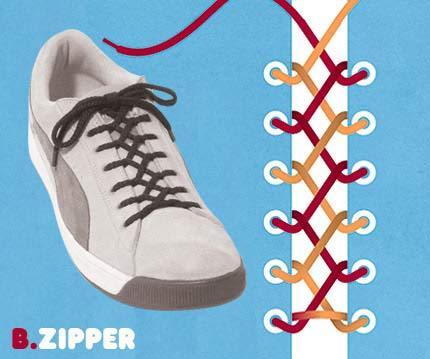 Cara ikat Sepatu yang Unik2 Buat temen2 yang mau Kerenz..... B10