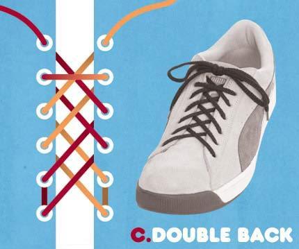 Cara ikat Sepatu yang Unik2 Buat temen2 yang mau Kerenz..... C10