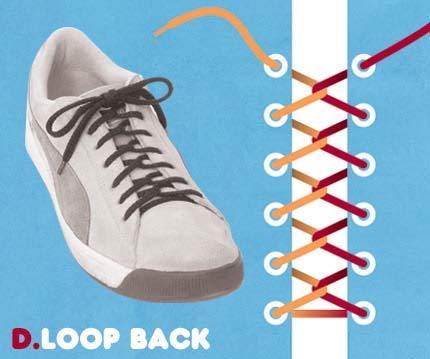 Cara ikat Sepatu yang Unik2 Buat temen2 yang mau Kerenz..... D10