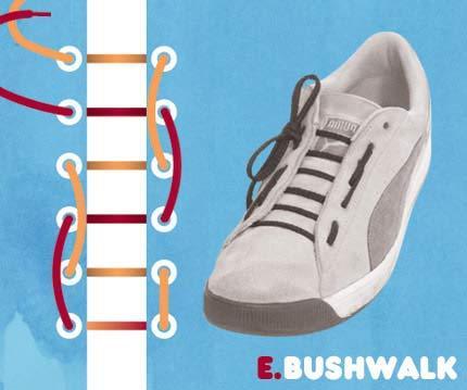 Cara ikat Sepatu yang Unik2 Buat temen2 yang mau Kerenz..... E10