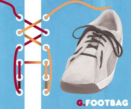 Cara ikat Sepatu yang Unik2 Buat temen2 yang mau Kerenz..... G10