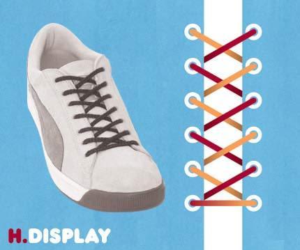 Cara ikat Sepatu yang Unik2 Buat temen2 yang mau Kerenz..... H10
