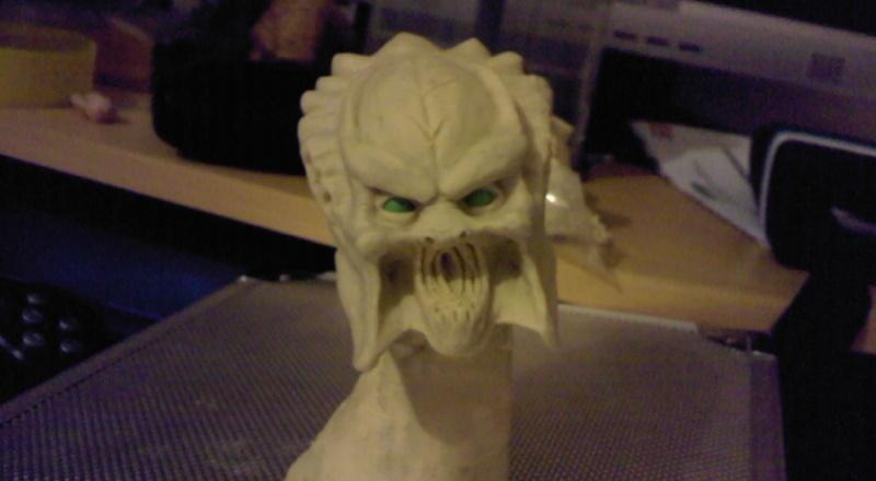 ma deuxieme sculpture mon premier predator Photo010