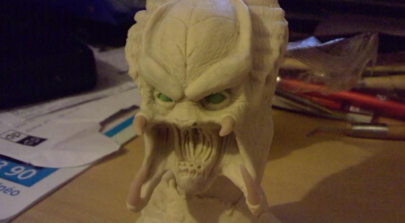 ma deuxieme sculpture mon premier predator Photo012