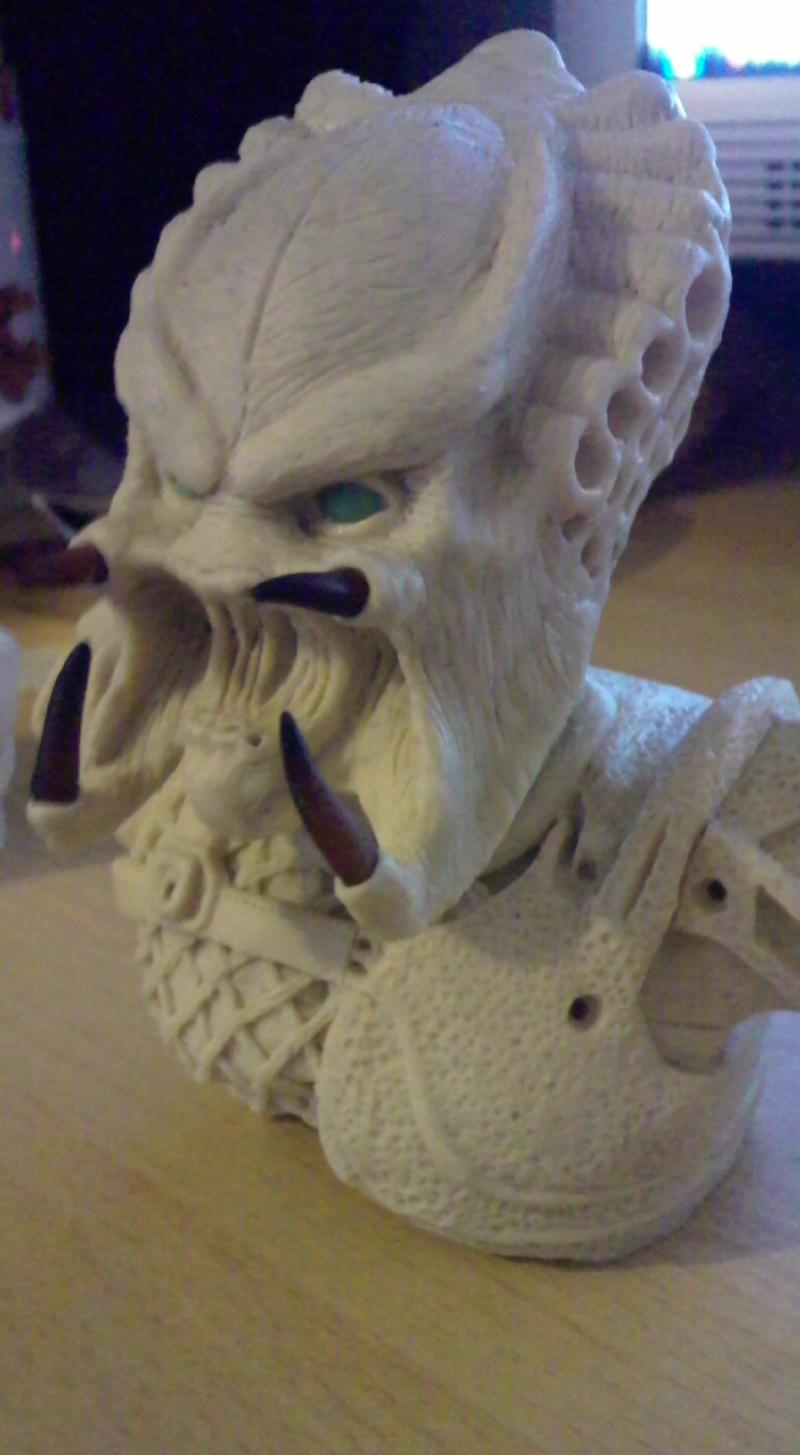 ma deuxieme sculpture mon premier predator Photo015