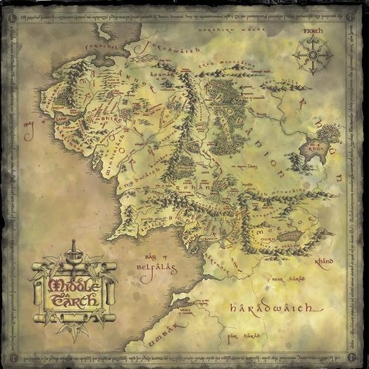 Cartes de la Terre du milieu 12258310