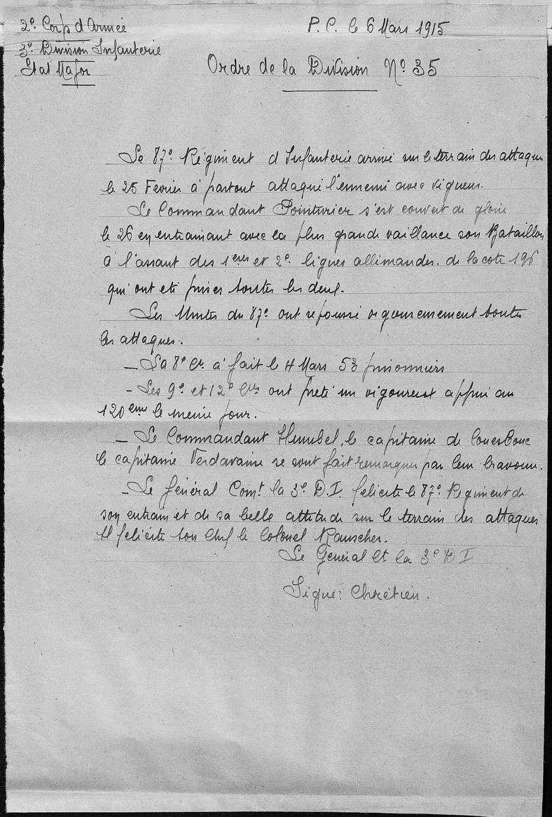 Mémorial des Braspartiates dans la Grande Guerre: 1915 016_8710
