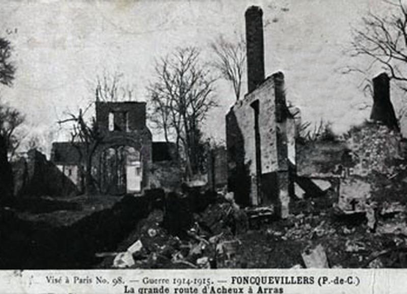 Mémorial des Braspartiates dans la Grande Guerre: 1915 Acheux10