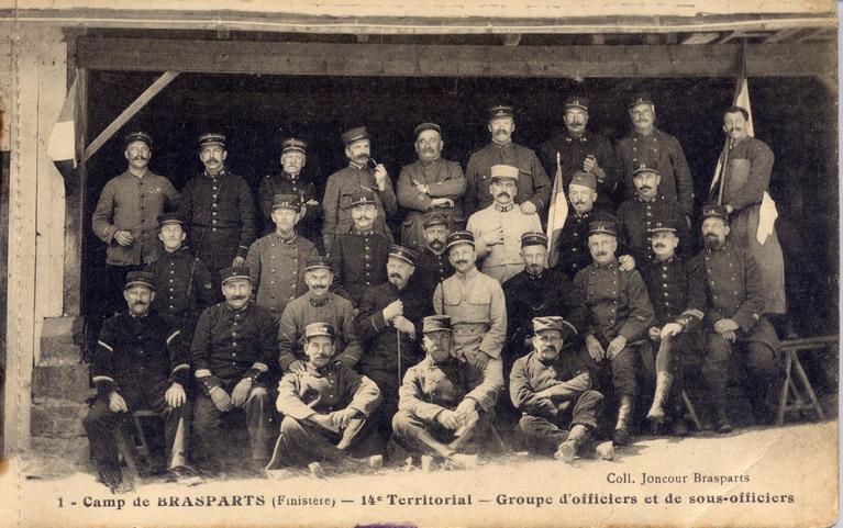 Un Régiment à Brasparts en 1914-1915: le 14ème Territorial File0206