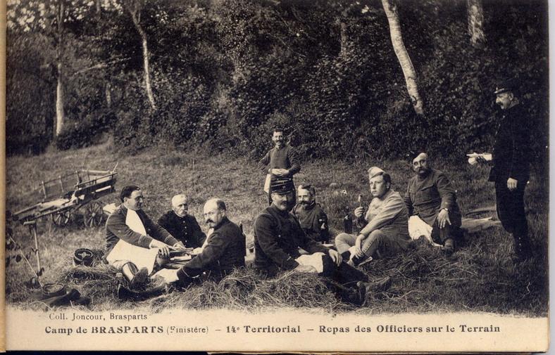 Un Régiment à Brasparts en 1914-1915: le 14ème Territorial File0211