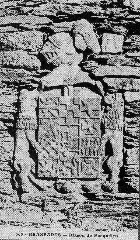 Pierre armoriée du manoir de Penquélen File0238