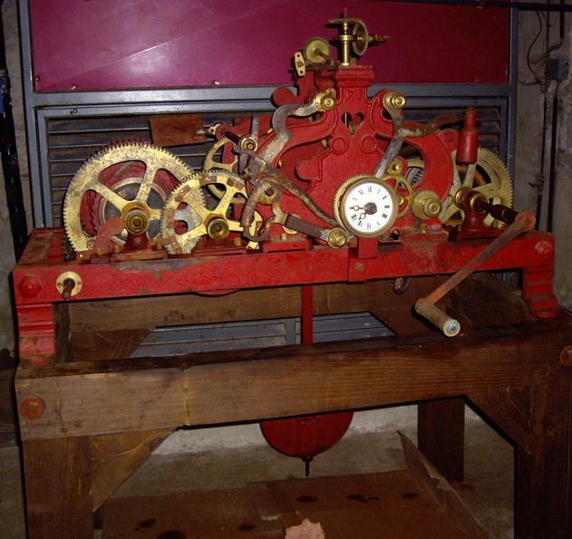 Les horloges de l'église de Brasparts Imgp1713