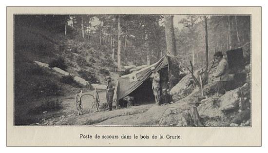 Mémorial des Braspartiates dans la Grande Guerre: 1915 Poste_10