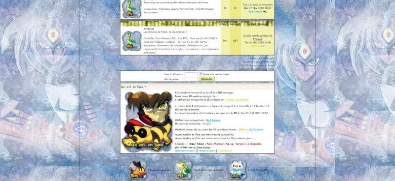 Problème avec l'installation d'un nouveau fond de page sur mon Forum. 418