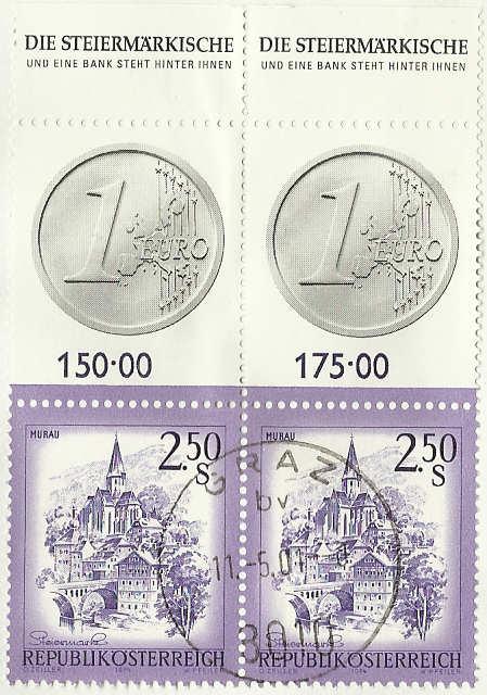 Nachtrag - Münzen auf Briefmarken 0250al10