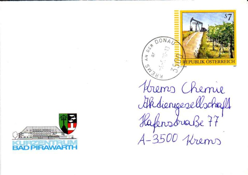 Amtliche Briefumschläge Republik Österreich, gelaufen 17_aus10