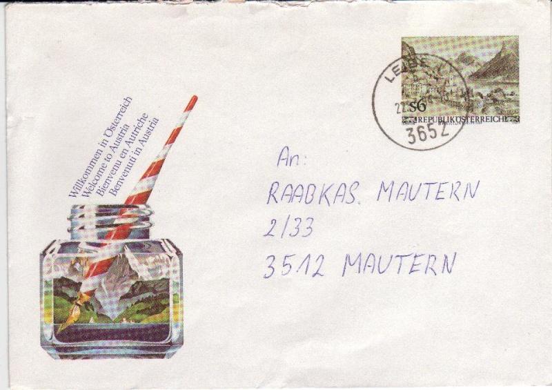 Amtliche Briefumschläge Republik Österreich, gelaufen 2_aus_10