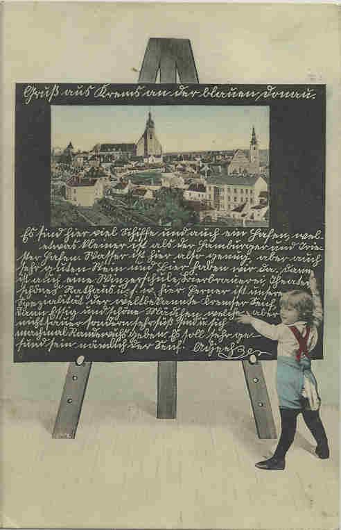 Sütterlin und Kurrent auf Postkarten Aklith10