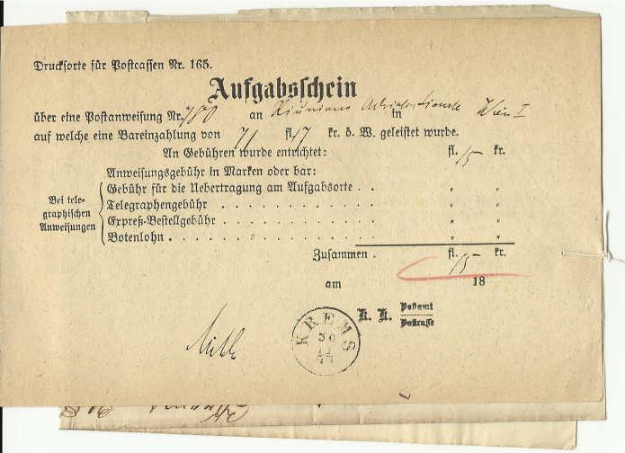 Die Verwendung von Fiskalmarken in Österreich Aufgab10