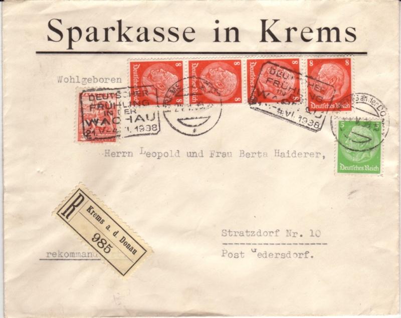 Briefe / Poststücke österreichischer Banken Bankbr10
