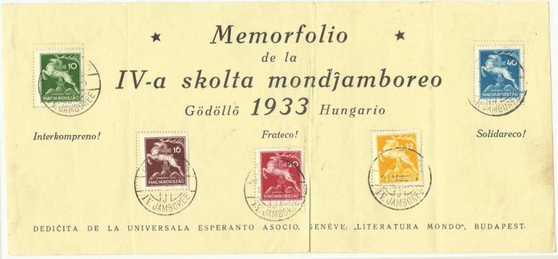 Pfadfinder Weltjamboree 1933 Espera10