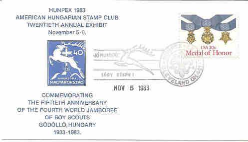 Pfadfinder Weltjamboree 1933 Hunpex10