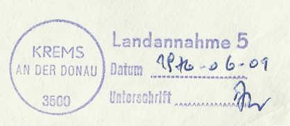 Landannahmestempel Landan11