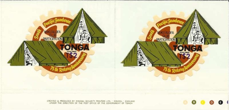 Landkarten auf Briefmarken - Seite 2 Tongas10