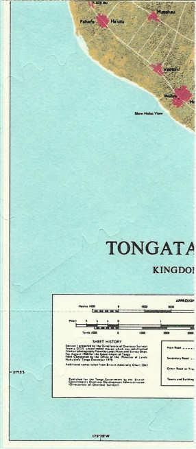 Landkarten auf Briefmarken - Seite 2 Tongas11