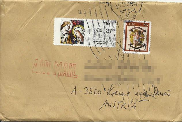 Postbelege - verhunzt und zerstört Verhun10