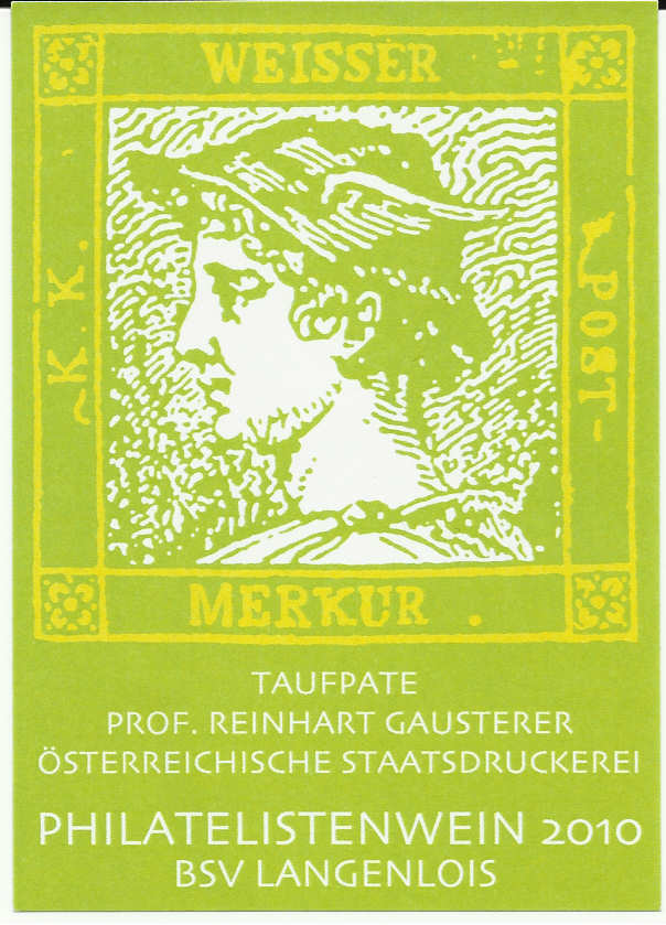 Weintaufe des Philatelistenweines in Langenlois 2010 Weinta12