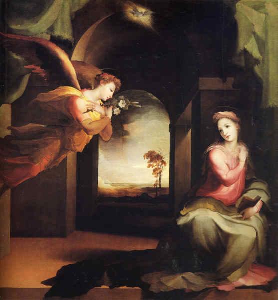 Maternité  de la Très Sainte Vierge Marie (11 octobre) Annonc10