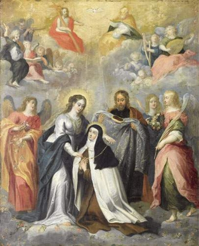 Sainte Thérèse d'Avila, Vierge, Réformatrice des Carmélites (15 octobre) Sainte25