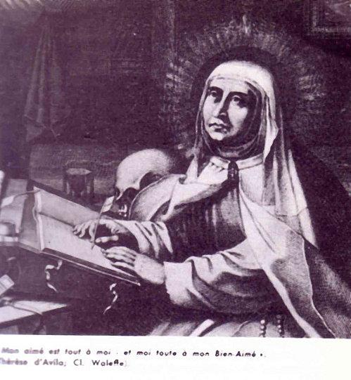 Sainte Thérèse d'Avila, Vierge, Réformatrice des Carmélites (15 octobre) Sainte26