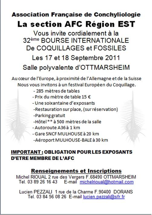 2011 Bourse internationale Ottmarsheim - 17 & 18 Septembre - AFC Région EST Invita10
