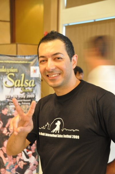 EXCLUSIVE: Jihad Shaban Speaks To Babbleonia. Behind the Salsa Scenes! N1047810