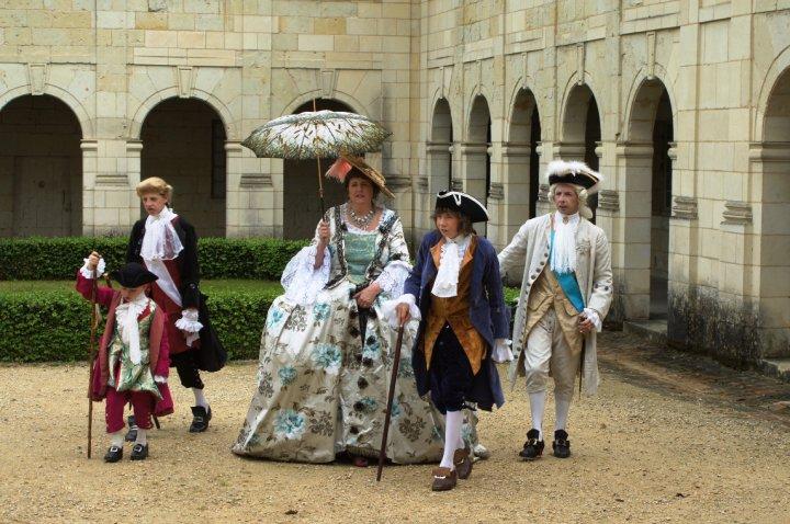 Balade en costume et visite de l'abbaye de Fontevraud 2010 29088_10